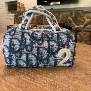RARE Vintage Auth Christian Dior Trotter Handbag